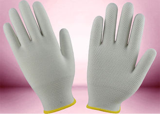 Slip Proof Cotton Knitted Gloves 13 Gauge 100% Polyester Seamless Gloves